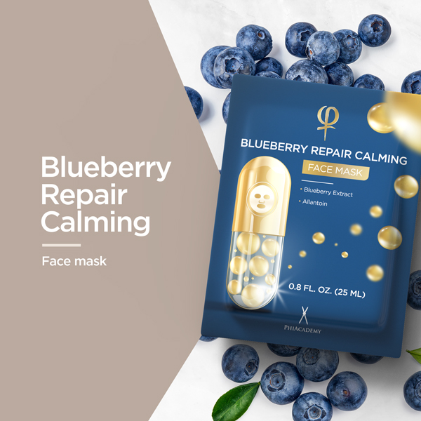 Blueberry Repair Calming Face Mask