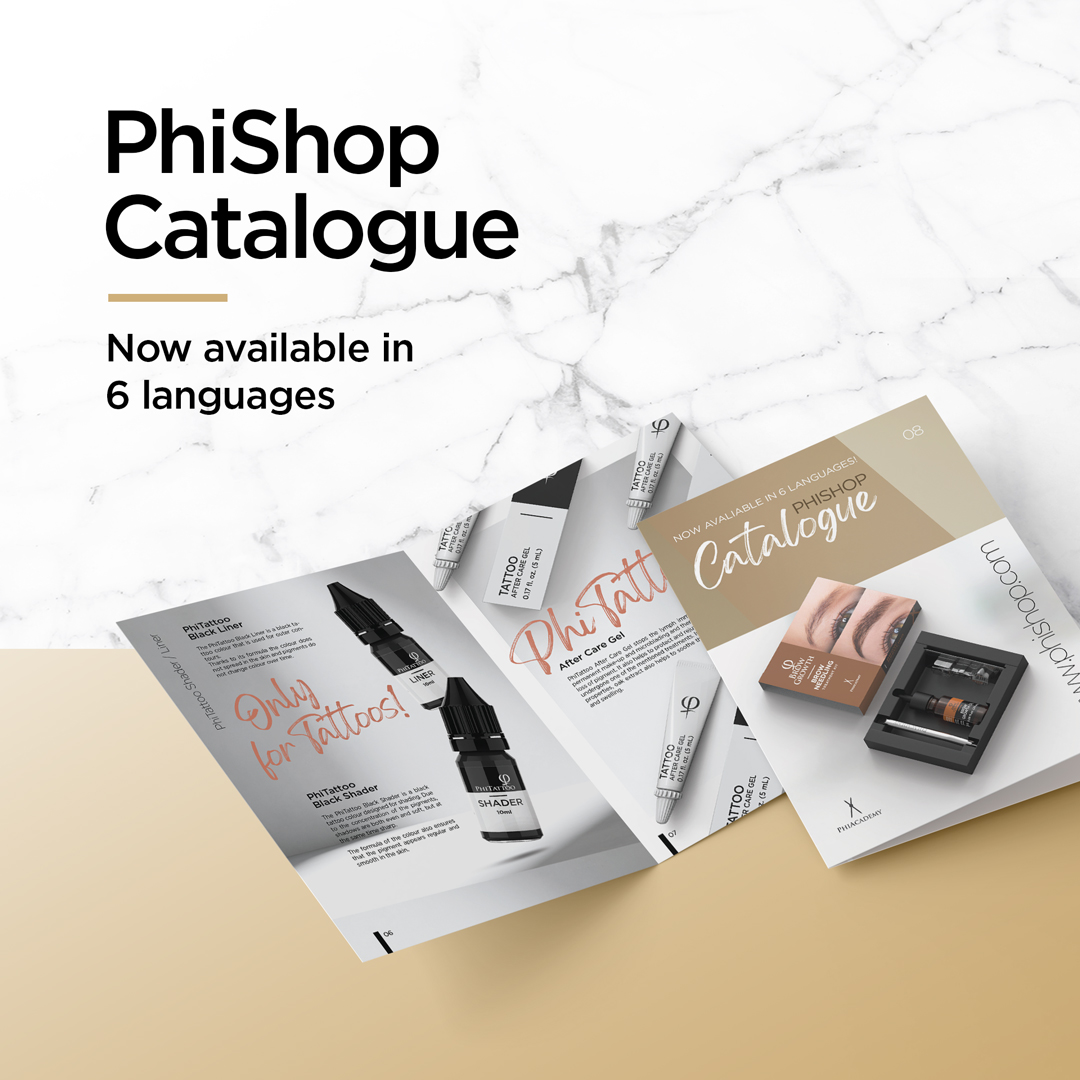 PhiShop Catalogue - Now available in 6 languages
