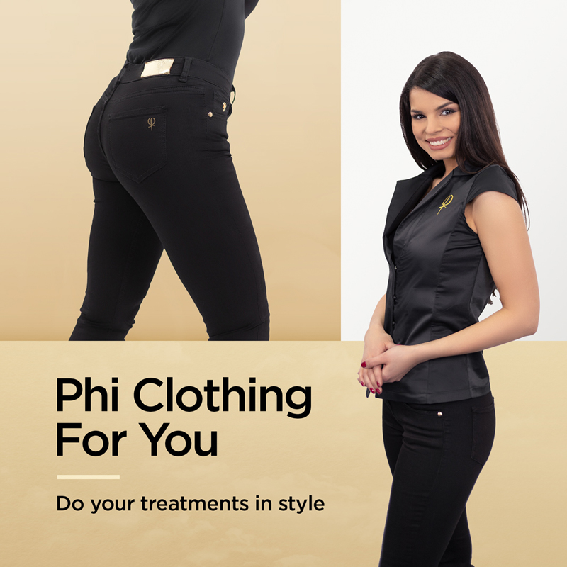 Phi Clothing For You - Do your treatments in style