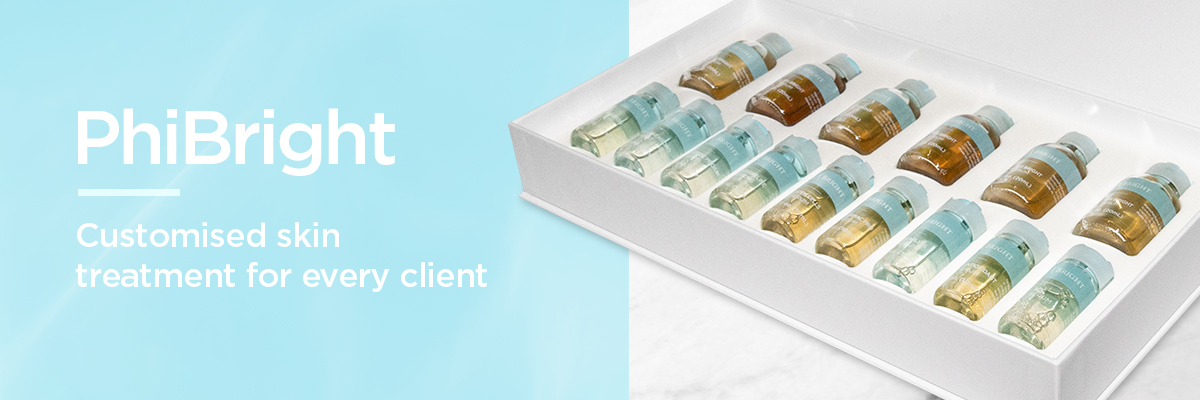PhiBright - Customised skin treatment for every client