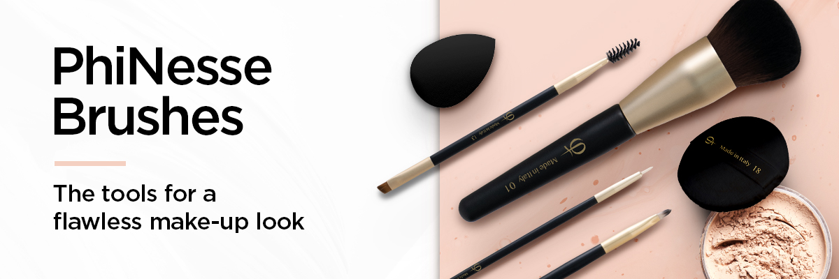 PhiNesse Brushes - The tools for a flawless make-up look