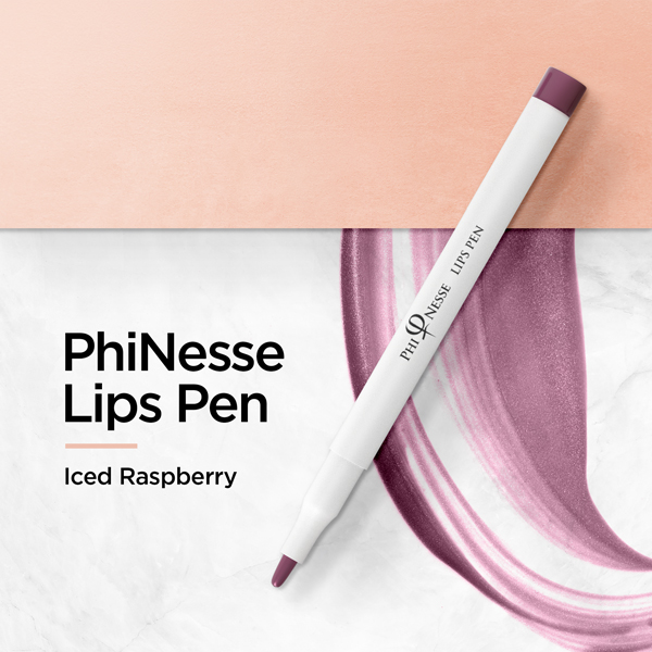 PhiNesse Lips Pen - Iced Raspberry