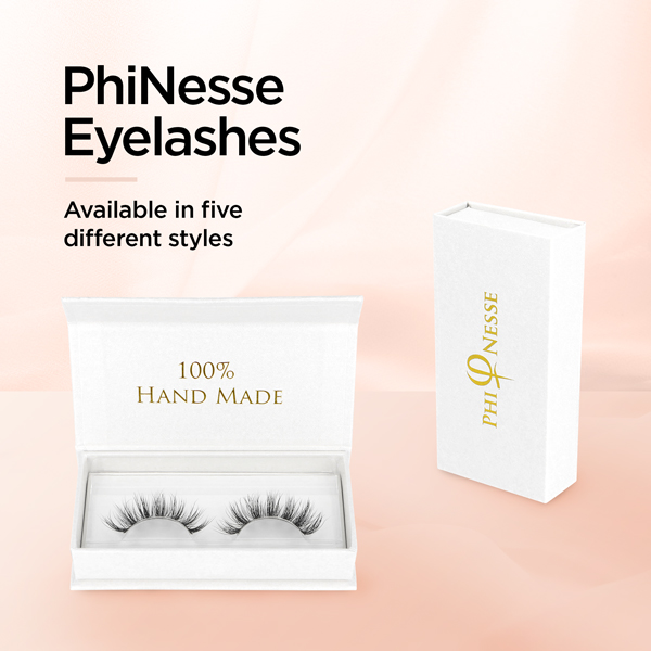 PhiNesse Eyelashes - Available in five different styles