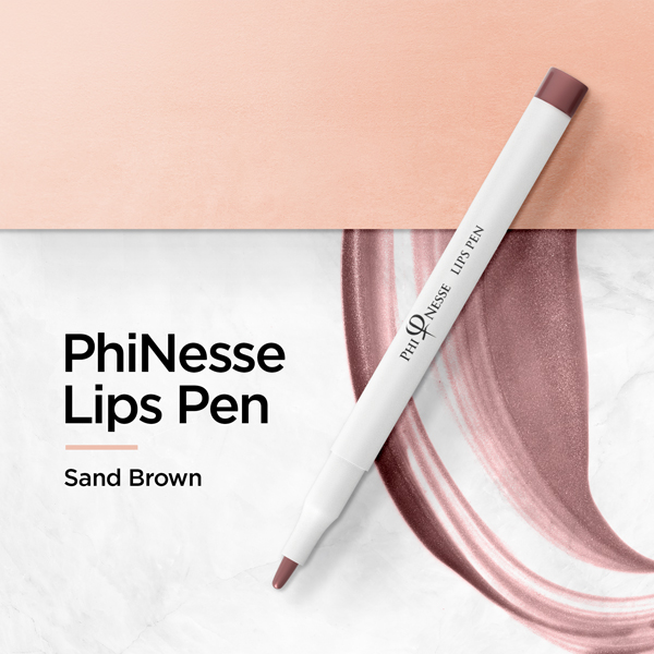 PhiNesse Lips Pen - Sand Brown