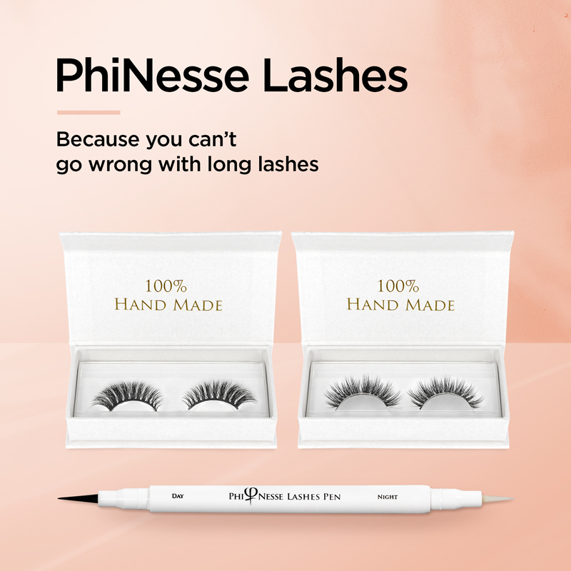 PhiNesse Lashes - Because you can't go wrong with long lashes