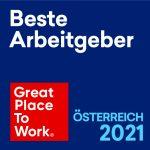 Great Place to Work - Beste Arbeitgeber Österreich 2021