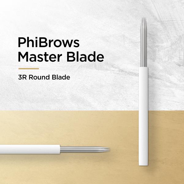 PhiBrows Master Blade 3R Round Blade