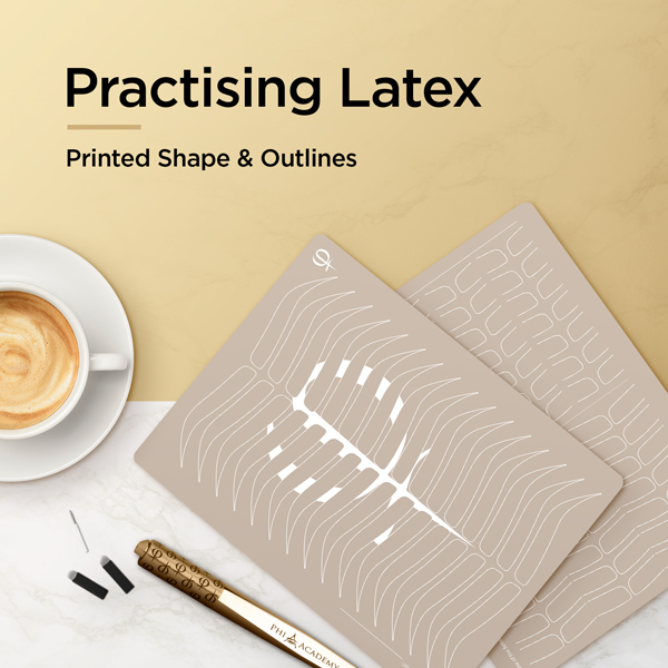 Practising Latex Printed Shape & Outlines