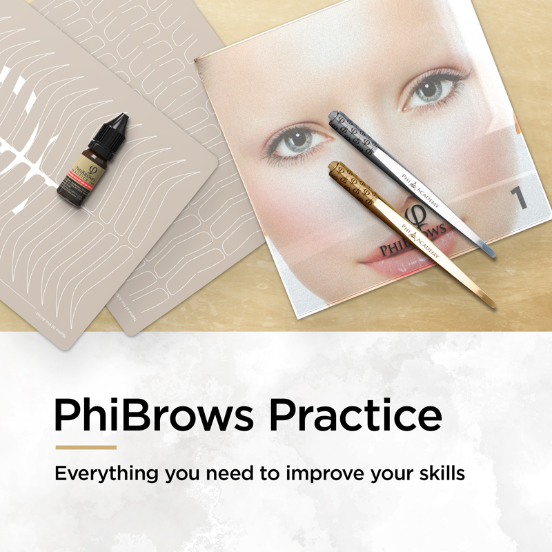PhiBrows Practice - Everything you need to improve your skills